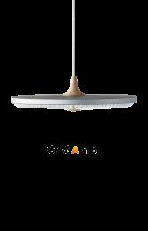 SOLEIL Small Standard Silver Cloud med CASAMBI lysdæmper