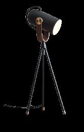 CARRONADE High Bordlampe Sort
