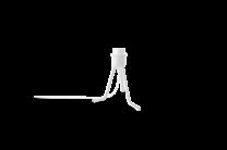 Tripod base white